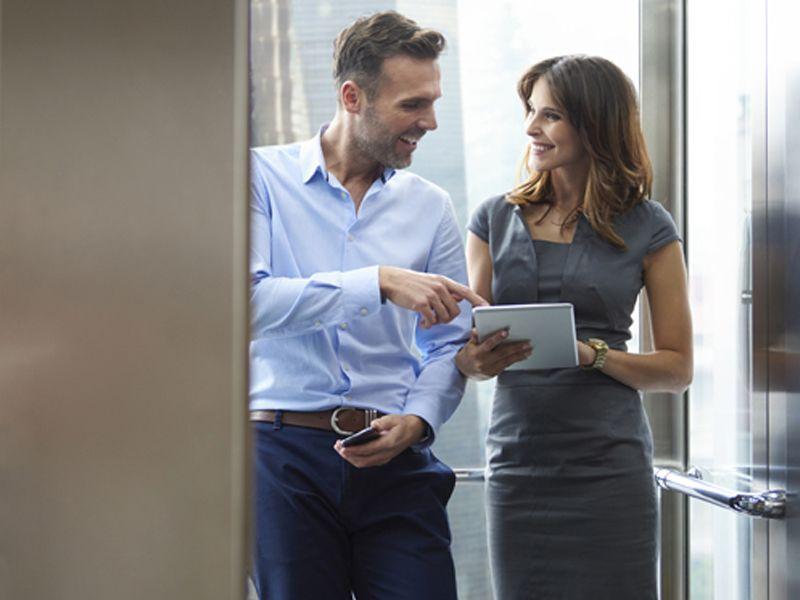 Conversaciones en el ascensor, ideal para conocer a tus vecinos-Conversaciones en el ascensor ideal para conocer a tus vecinos 1